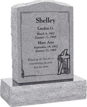 10 Cross Headstone Charms Antique Silver Tone Grave Marker SC1747